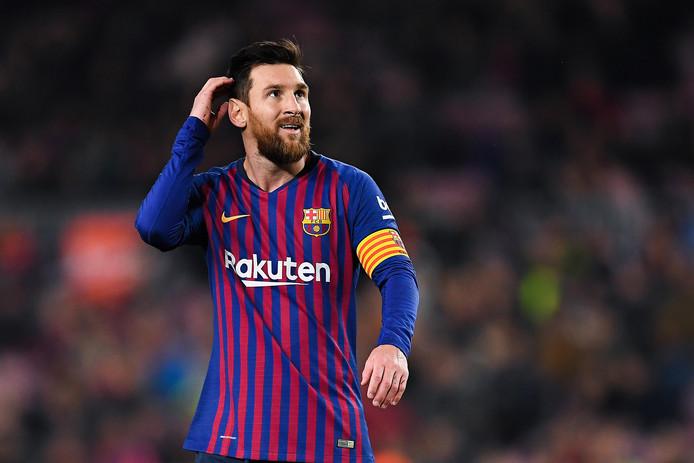 Lionel Messi was gisteravond tegen Levante goed voor een goal en twee assists.