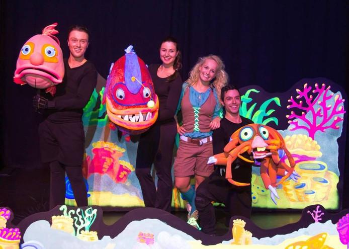 'Deep ocean monsters' in Burgers' Zoo Arnhem. Foto Burgers' Zoo