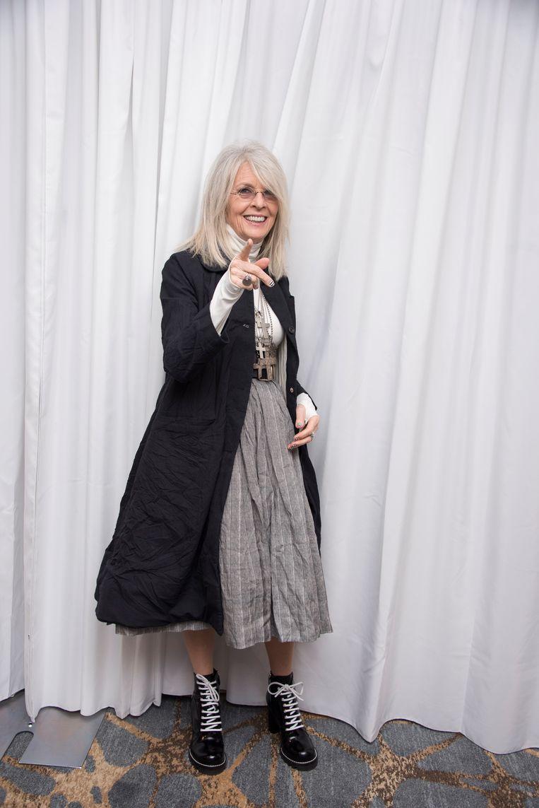 Diane Keaton in mei 2018. Beeld WireImage