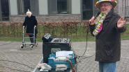 DJ Capi bouwt feestje aan woonzorgcentrum Zusterhof voor verjaardag van 95-jarige moeder