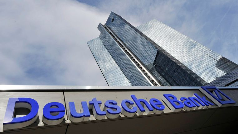 Het hoofdkantoor van Deutsche Bank Beeld EPA