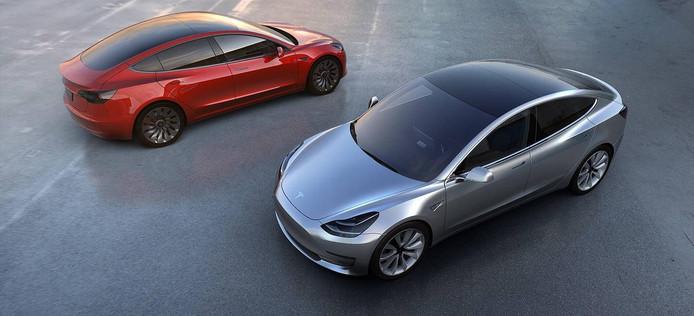 De Model 3 moet de eerste 'betaalbare'Tesla worden, maar de exacte prijs voor Nederland is nog niet bekendgemaakt.