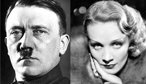 Adolf Hitler en Marlene Dietrich