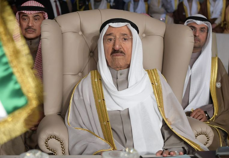 Emir sjeik Sabah al-Ahmad al-Jaber al-Sabah van Koeweit.