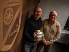 Verknocht aan het geel-zwart van VV Baardwijk. 'Zelfs mijn oprit was bestraat in clubkleuren'