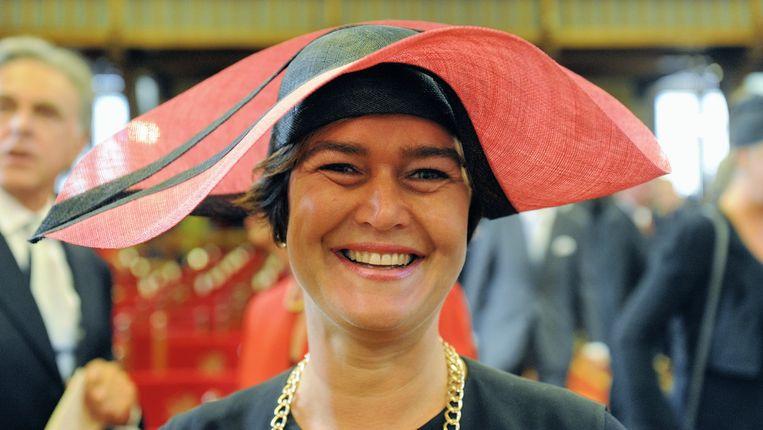 VVD-Tweede Kamerlid Anouchka van Miltenburg op Prinsjesdag in de Ridderzaal in Den Haag. Beeld ANP