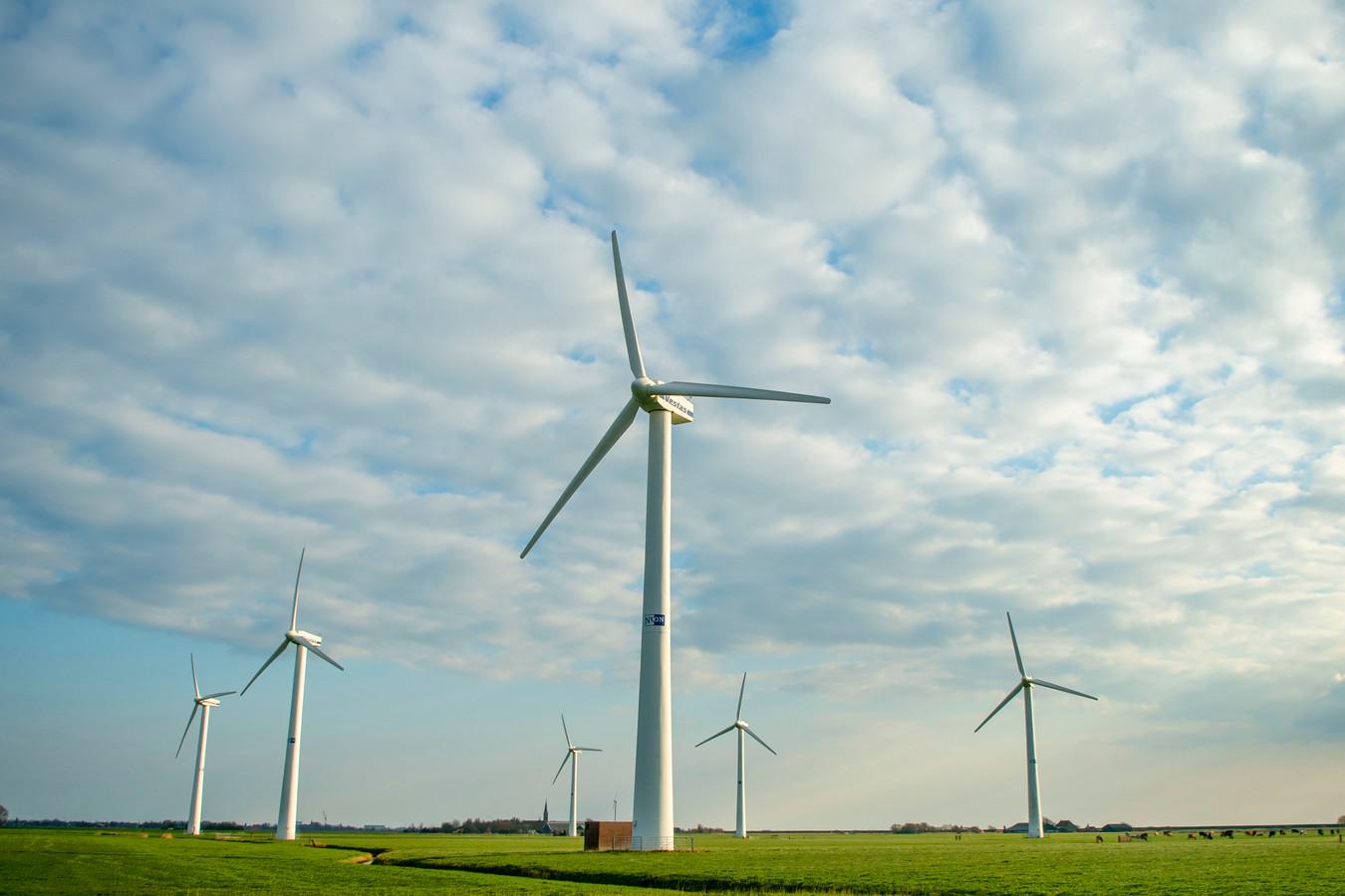 Vanuit Dronten geen scherp protest tegen nieuwe windmolens bij Ketelhaven en Biddinghuizen.
