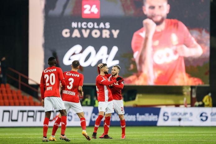 Maxime Lestienne avait manqué un penalty, Nicolas Gavory n'a pas tremblé.