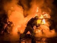 Auto brandt volledig uit in Nieuwegein