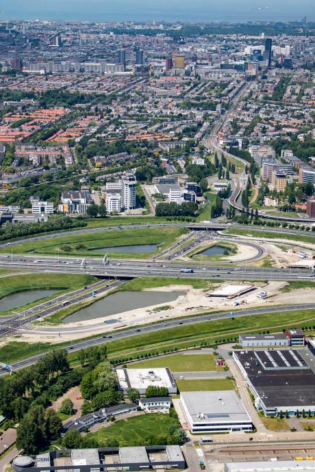 A4 bij knooppunt Ypenburg weer hele weekend afgesloten