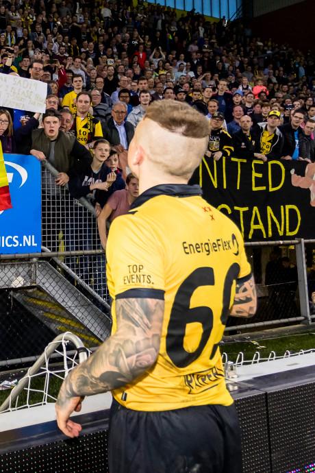 NAC-supporters massaal naar FC Twente: uitvak volledig uitverkocht