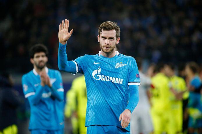 Nicolas Lombaerts a défendu les couleurs du Zenit durant dix saisons, il garde forcément un attachement particulier pour le cub de Saint-Pétersbourg.
