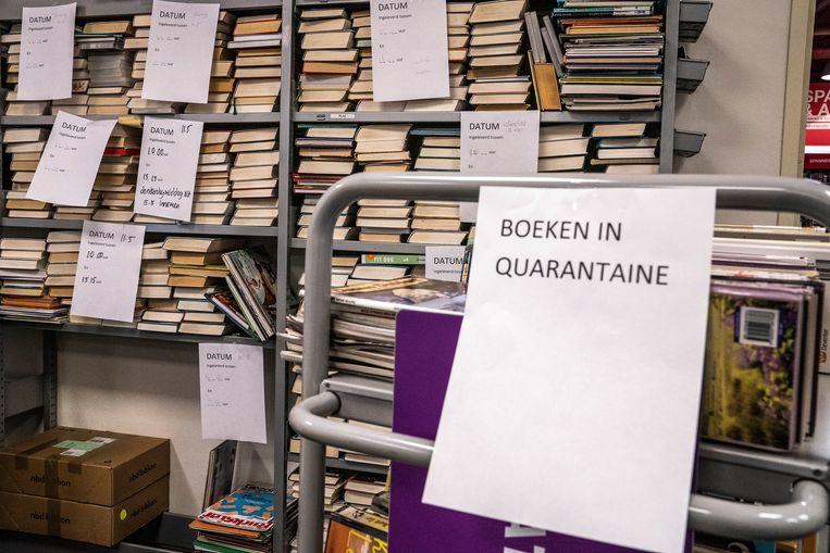 Er gelden strikte regels in de bibliotheken.