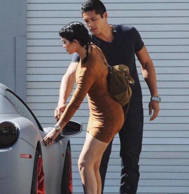 Kylie Jenner en haar bodyguard  Tim Chung.