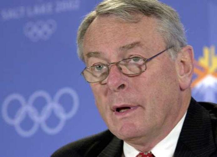 Dick Pound, le plus ancien membre du Comité international olympique