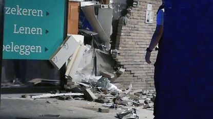 Plofkraak op bankkantoor in Herselt: buurvrouw staat oog in oog met gangster