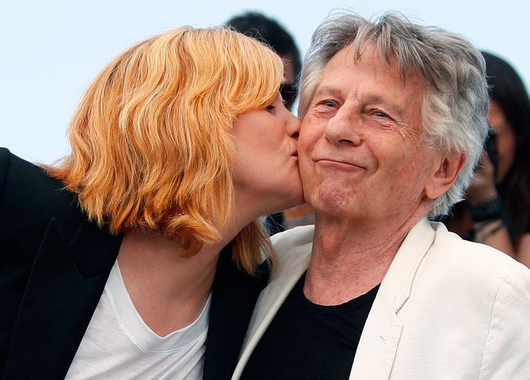 Roman Polanski en Emmanuelle Seigner
