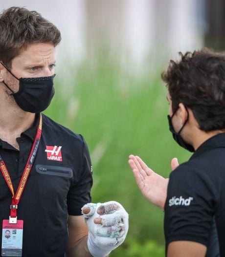"""Grosjean tire sa révérence après son effroyable accident: """"Je ne pensais pas terminer comme ça"""""""