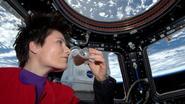 Eerste ruimte-espresso in ISS uitgeschonken