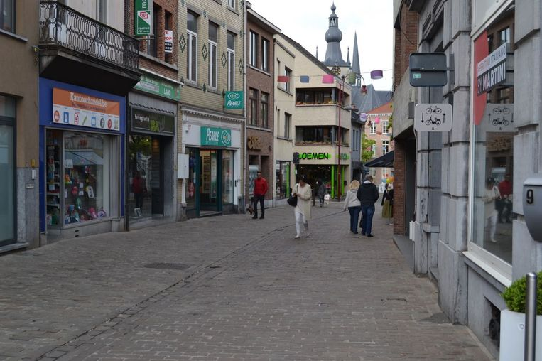 De Martelarenstraat in Aarschot.