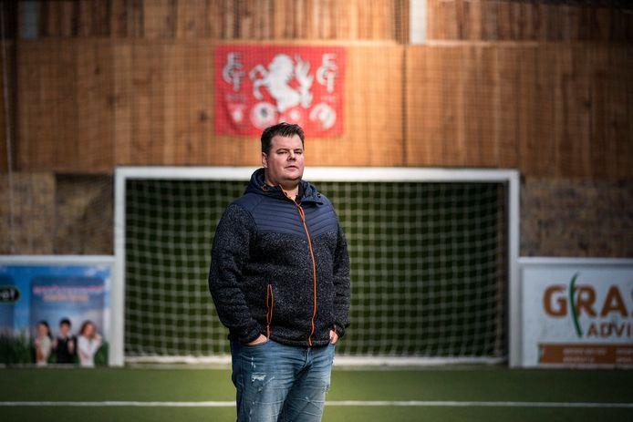 Tim Kollen, de trainer van EGVV.