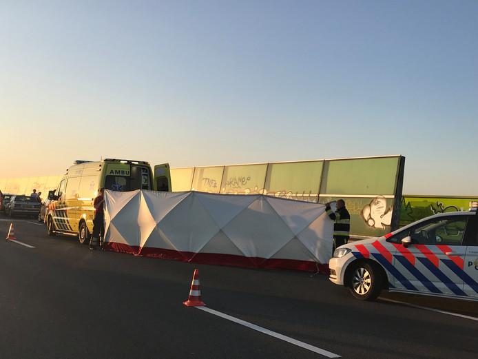 Dode en zwaargewonde bij ongeval met quad op A2 bij Den Bosch