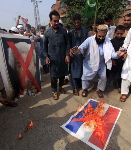 Pakistan boos op Nederland om cartoonwedstrijd Wilders