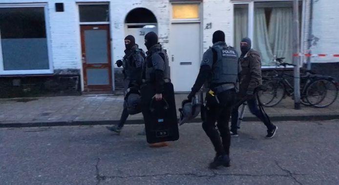 Arrestatieteam ingezet in Oss