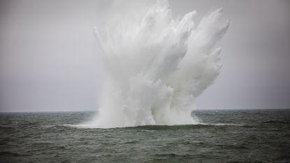 VIDEO: Marine blaast vliegtuigbom van 500 kilo op