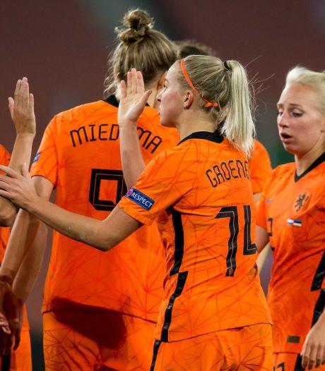 Leeuwinnen stellen met zevenklapper tegen Estland EK-kwalificatie veilig