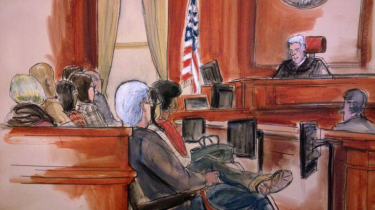Een Amerikaanse jury in New York verklaarde woensdag dat Mehmet Hakan Atilla in 2012 en 2013 sancties tegen Iran heeft omzeild. Beeld AP