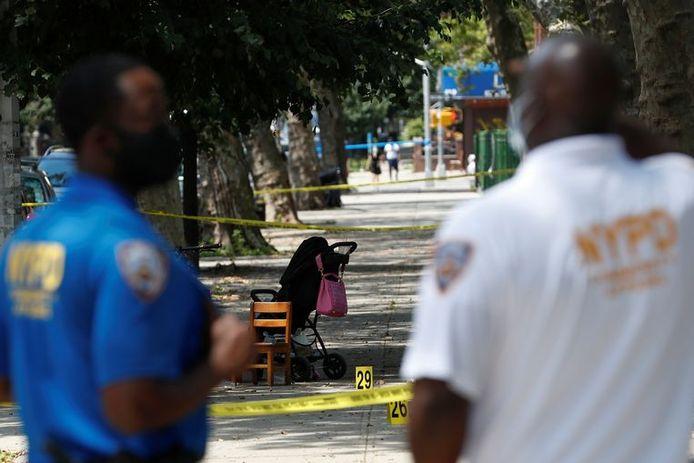 Un enfant âgé d'un an a été tué par balle lundi à New York.
