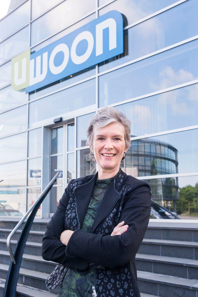 Moniek van Balen, directeur woningstichting Uwoon.