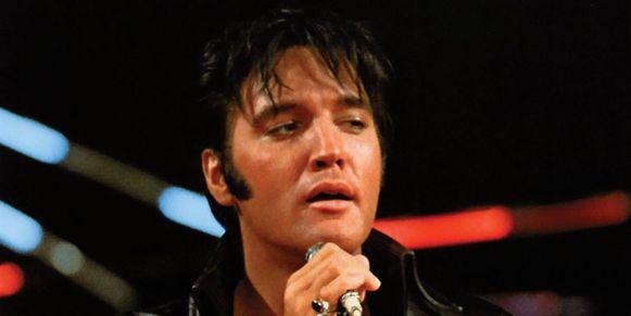De nog steeds betreurde echte Elvis Presley