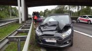 Auto en truck botsen op E314