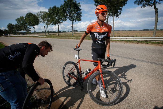 Sjoerd van Ginneken beëindigt zijn wielerloopbaan.