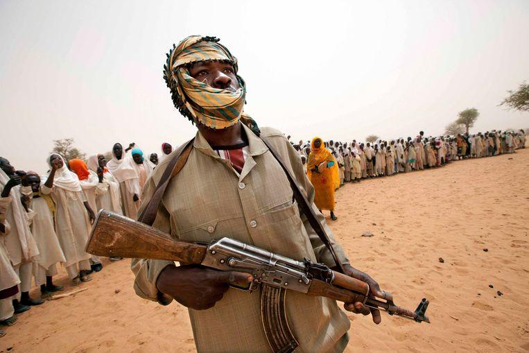 Een Soedanese rebel