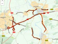 Chaos A1 legt verkeer tussen Apeldoorn, Deventer en Zutphen urenlang lam, ook A28 en N35 druk