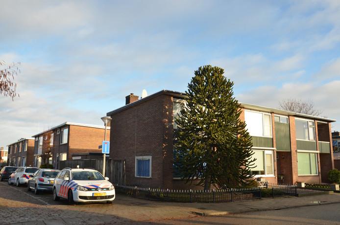 De vondst werd gedaan aan de Paulus Potterstraat in Zutphen.