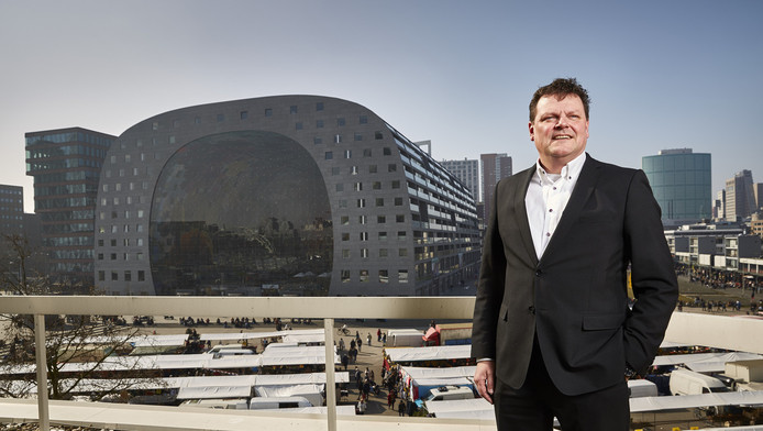 Maarten van Lier, directeur van de Markthal
