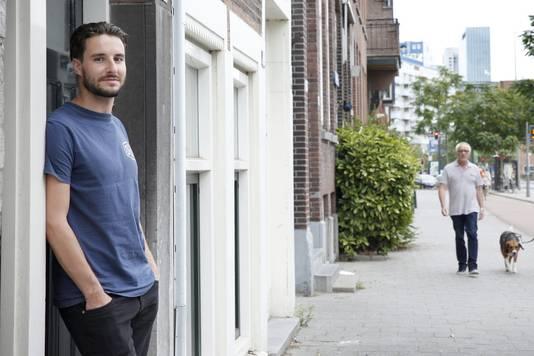 Rotterdam stond bij Duco van 't Sant al hoog op het lijstje van potentiële woonplaatsen. Toch viel het hem niet mee om snel aan een goed huurhuis te komen.