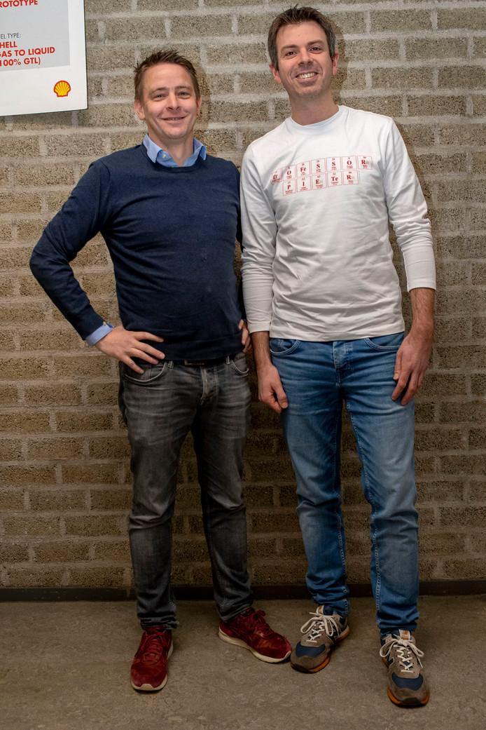 Stijn Gabriels en Pieter Bruijnincx wonen al lang niet meer in Roosendaal, maar de stad vormt nog steeds een belangrijke verbinding tussen de vrienden.