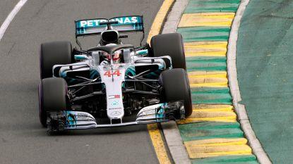 Lewis Hamilton knalt naar de pole in GP van Australië, Vandoorne start op elfde positie