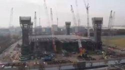Zo bouwen ze een Olympisch stadion