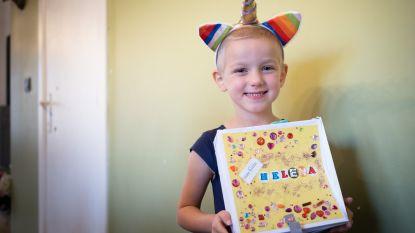 """Leukemiepatiëntje Helena ziet op zondag droom uitkomen: """"Wil met eenhoorns vliegen"""""""