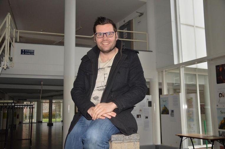Jeroen Wiggeleer, alias 'dj Franzke', organiseert één van de laatste shows met de originele cast van de drie wijzen in De Plomblom.