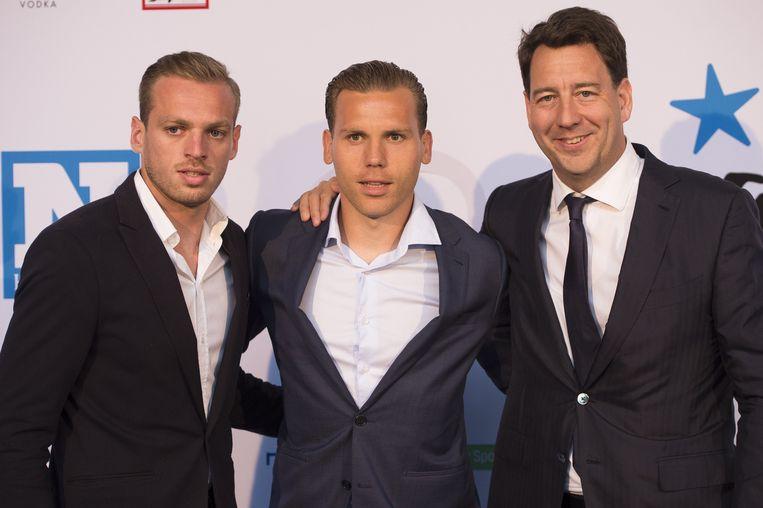 Laurens De Bock, Ruud Vormer en Jan Boone.