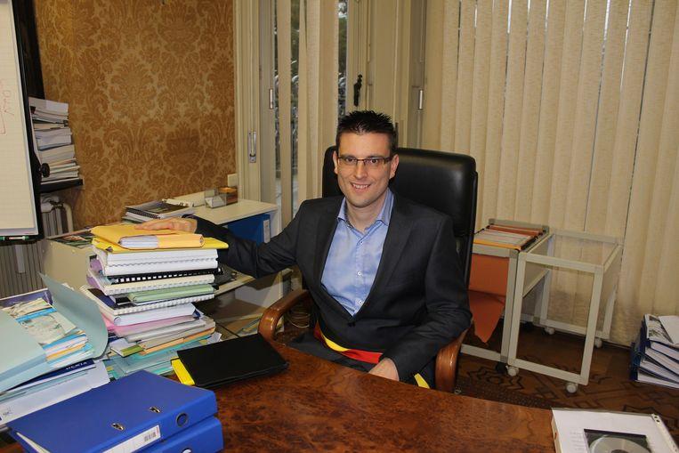 Burgemeester Robby De Caluwé (Open Vld).