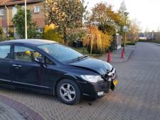 Joyriders stelen auto en rijden tegen paaltjes in Winterswijk