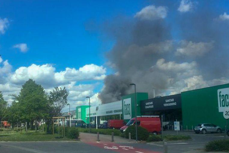 Brand in afvalverwerkingsbedrijf Renewi